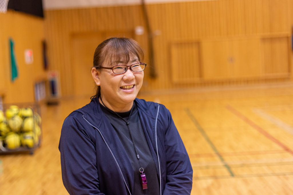 関としはるサポーターの茨城町在住石堀和美さん