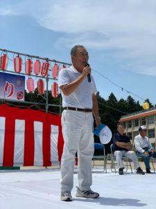三世代交流矢頭夏祭り